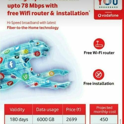 Vodafone - You Broadband & Fancy Numbers 1 from Hyderabad