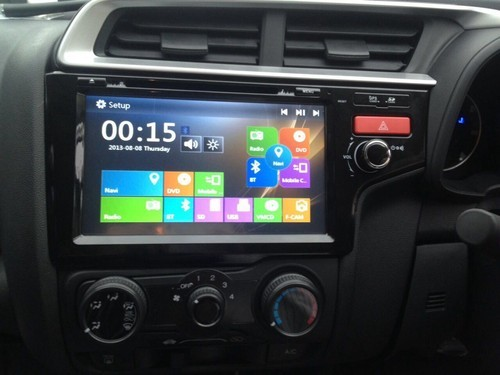 Honda Jazz Touch Screen System With Android कर
