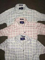 Cotton Men White Shirts