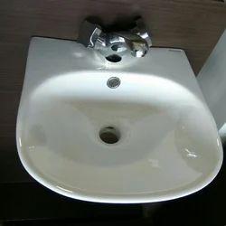 White Bathroom Wash Basin