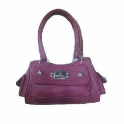 Ladies Rexine Fancy Handbag