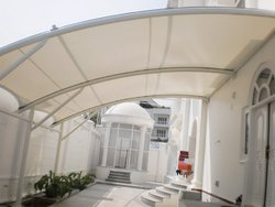 Membrane Tensile Structure Car Parking Structures