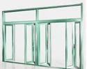 Aluminium Green Window
