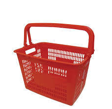 Shopping Plastic Baskets