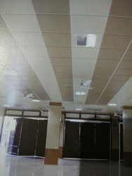 Metal Grid Ceiling Works