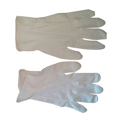 Latex White Examination Glove