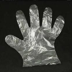 Transparent Unisex Plastic Gloves