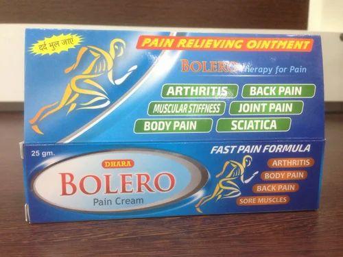 Bolero Pain Cream