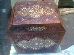 Wooden Printed Designer Jewelry Box