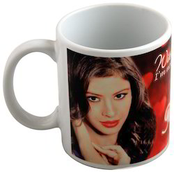 Dass Gifting Creations Personalized White Coffee Mug, Size: 11oz, for Office