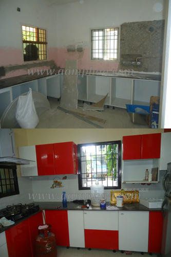 Old Kitchen Cabinets Remodeling At Rs 1550 Square Feet Cabinets Designing Services Kitchen Cabinet Service Contemporary Modular Kitchen Modern Kitchens Modular Kitchen Furniture Aamphaa Projects Chennai Id 4762282191