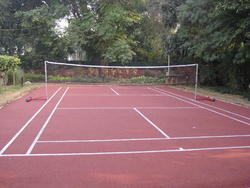 Outdoor Badminton Court Flooring