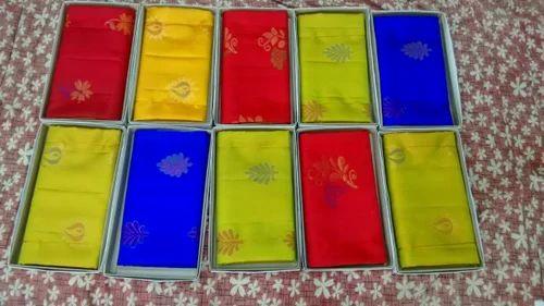 Tissue Border Soft Silk Saree