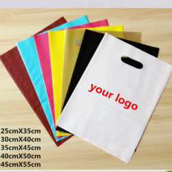 Non Vowen Carry Bag D cut / handle / loop with desired size and custom printing