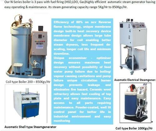 Steam Boiler and Steam Generator at Rs 300000 /pc | Sector No. 11 ...
