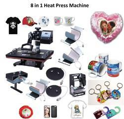 8 in 1 Heat Press Machine - Eight in One Heat Press