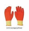 Crinkled Latex Fully Coated Gloves