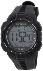 Timex Digital Watch with LCD Dial Digital Display and Black