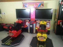 Motorbike Arcade Game