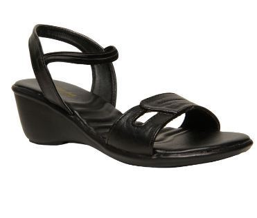 0a75965b9600 Bata Women Black Sandals