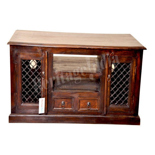 Traditional Wooden TV Table