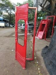 Iron Powder Coated FHC Metal Door, Single