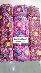 Printed Velvet Curtain Fabric