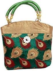 Printed Cotton Fabric Ladies Bags