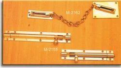 Straight Bolt & Door Chain