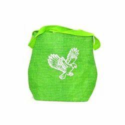 Designer Green Jute Bag