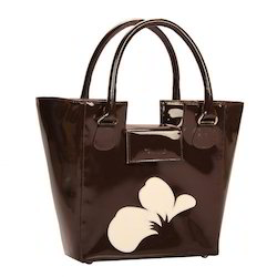Las Patent Leather Handbag