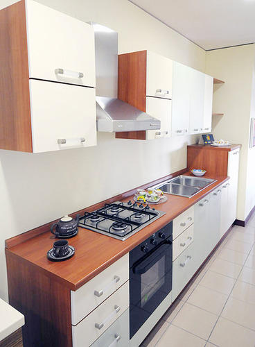 Modular Kitchen Wooden Color Combination