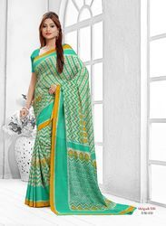 Yellow Party Wear And Festive Wear Malgudi Silk Sarees