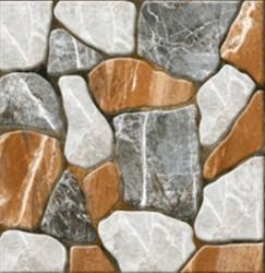 Multicolor Outdoor Parking Stone Design Tiles, Thickness: 10-15 Mm, Size: 30x30 Cm