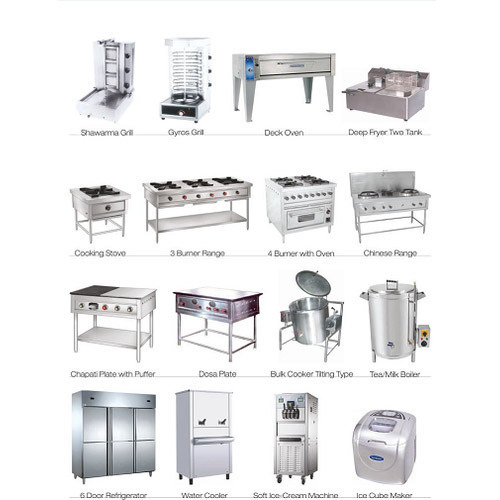 International Industrial Kitchen Equipment- Commercial Use