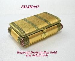 Rajwadi Dry Fruit Box Gold