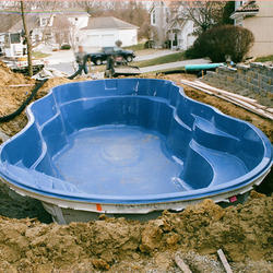 Plastik Pool fiberglass pools - fibreglass pools latest price, manufacturers