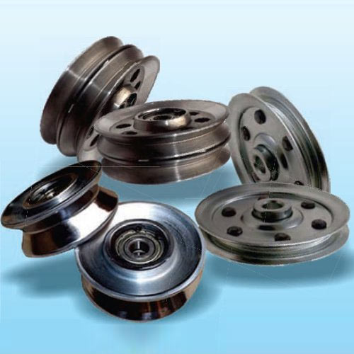 Wire Guide Pulley | Flange Wire Guides Pulley ग इड गर र ग इड प ल