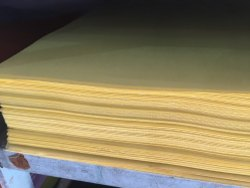 Yellow Craft Paper