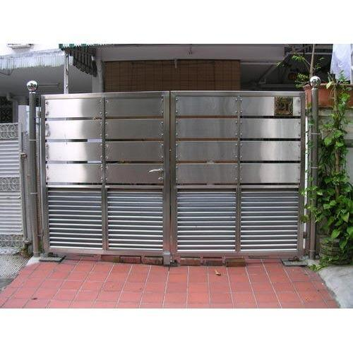 Designer stainless steel gate at rs 300 kilogram ss gate jai designer stainless steel gate workwithnaturefo