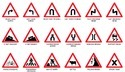 Cautionary Sign Boards Triangular Type For Necessary Cautions To Maintained