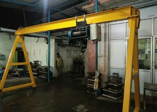 1 Ton A Frame Gantry Crane With EWR Hoists