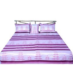 5 Piece Pink Silk Bed Cover Set 440
