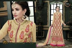 Embroidered Plazzo Salwar Suits