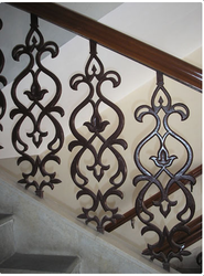 Cast Iron Staircase Railing