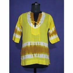 Cotton Tie and Dye Kurtis
