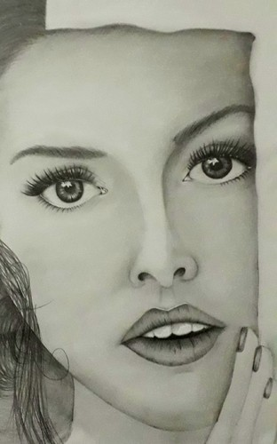 Pencil sketch size 8x11