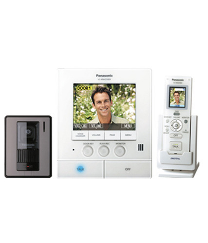 Panasonic Wireless Video Door Phonevideo Intercom System Wireless