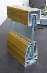Aluminium Flat Bar Glass Railing
