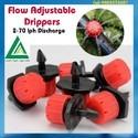Flow Adjustable Drippers